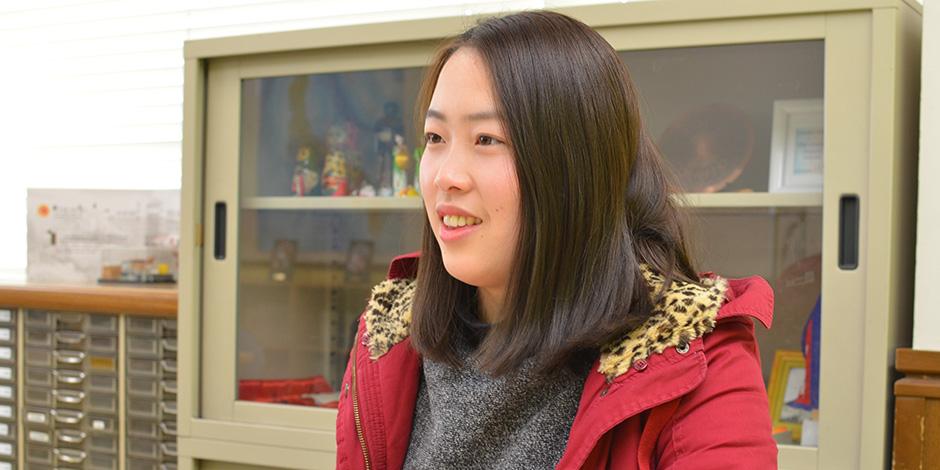 王羽さん インタビューの様子1