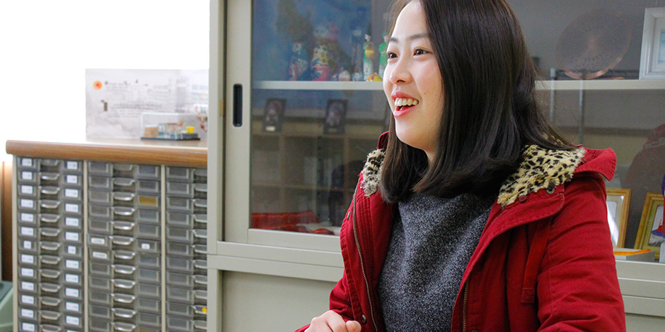 王羽さん インタビューの様子2